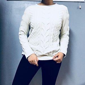 J. JILL • Chenille Crewneck Pullover Sweater XS